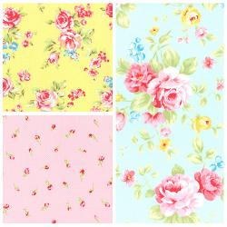Antique Flower Pastel Fall 2016