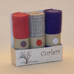 Curlers Pre-felted Wool