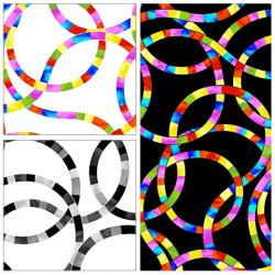 """Lazy Loops 108"""" Quilt Backs"""