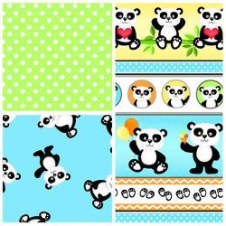 Panda-Monium Flannel