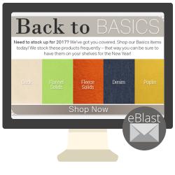 eBlast: Back to Basics