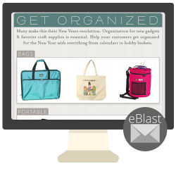 eBlast: Get Organized