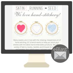 eBlast: Satin, Running or Seed — We Love Hand-Stitchery!