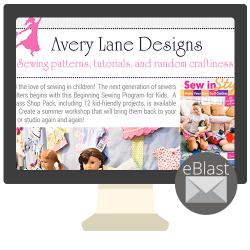 eBlast: Sewing for Kids