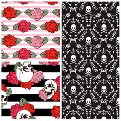 Punk Skulls & Roses