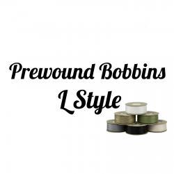 Prewound Bobbins L style