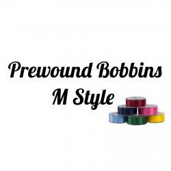 Prewound Bobbins M style