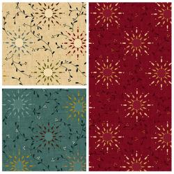 "Prairie Vine 108"" Wide Quilt Backs"