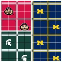 College Flannel Prints