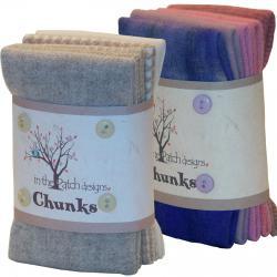 Chunks Pre-felted Wool