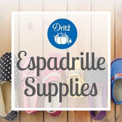 Espadrille Supplies