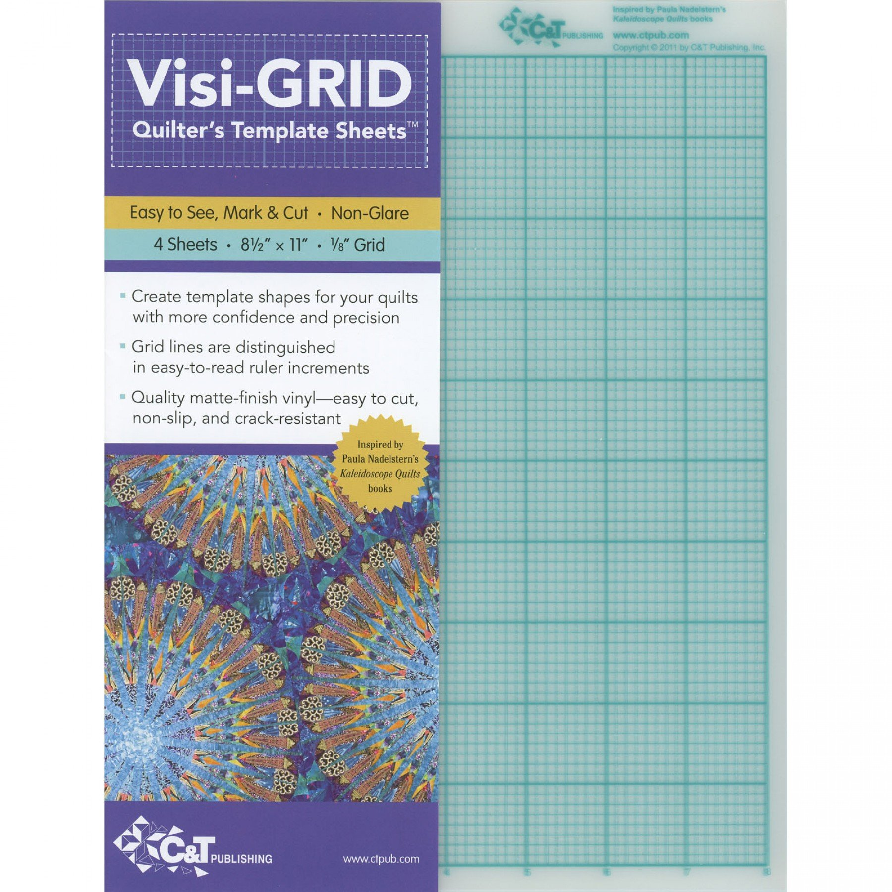 Visi-GRID Quilter s Template Sheets EE Schenck Co.