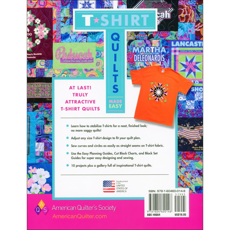 T-Shirt Quilts Made Easy EE Schenck Co.