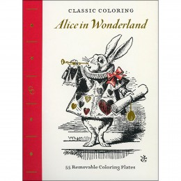 Classic Coloring Book: Alice in Wonderland