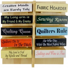 Wood Sign Display