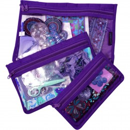 Notions 3pc Pouch Set