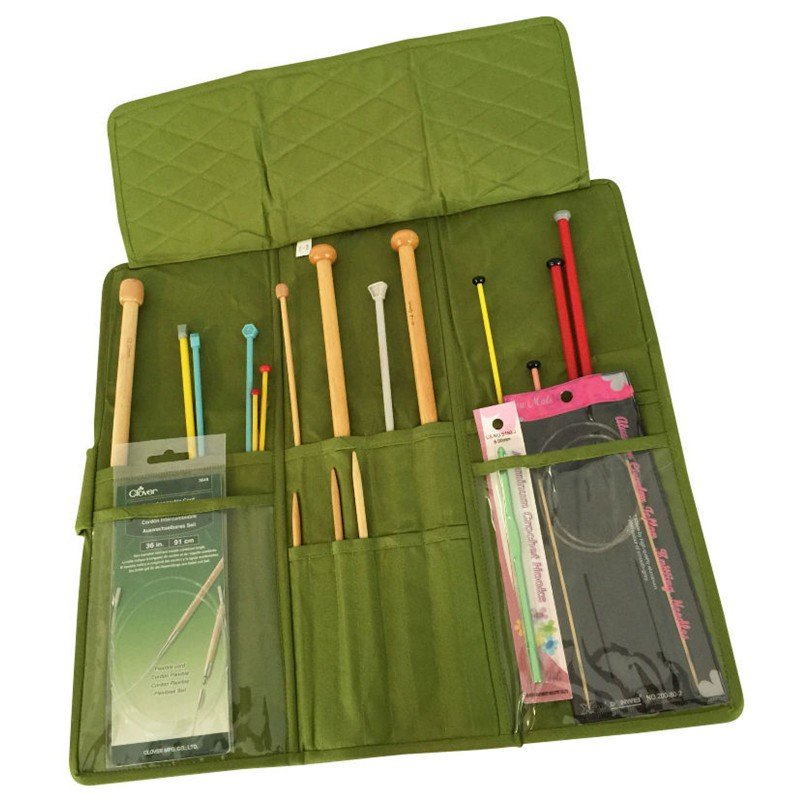 Quilted Knitting Needle Case Pattern : Knitting needle case ee schenck co