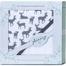 Deer to Me Hooded Terry Towel
