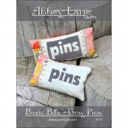 Basic Bits - Gray Pins