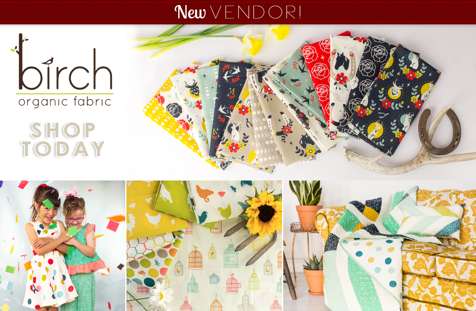 New Birch Fabrics